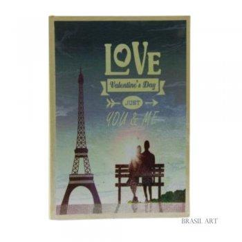 Livro Caixa Valentine's Day P