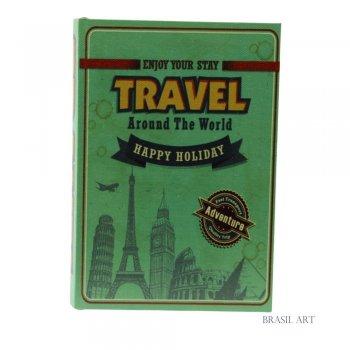 Livro Caixa Travel P