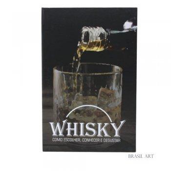 Livro Caixa Whisky P