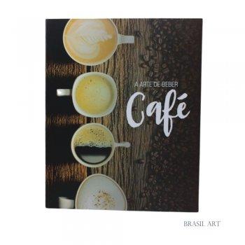 Livro Caixa A Arte de Beber Café G