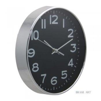 Relógio de Parede Prata M